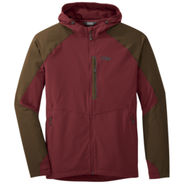 OR Men's Ferrosi Hooded Jacket firebrick/carob