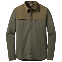 OR Men's Ferrosi Utility L/S Shirt coyote/fatigue