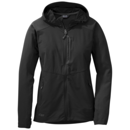 OR Women's Ferrosi Hooded Jacket black