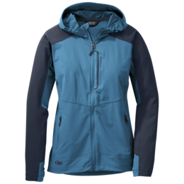 OR Women's Ferrosi Hooded Jacket oasis/night