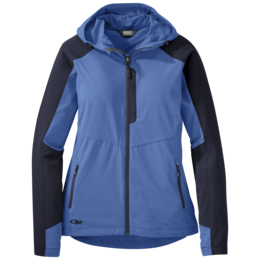 OR Women's Ferrosi Hooded Jacket lapis/naval blue