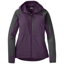 OR Women's Ferrosi Hooded Jacket pacific plum/storm