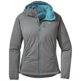 OR Women's Ascendant Hoody pewter/typhoon