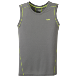 OR Men's Gauge Sleeveless Tee pewter