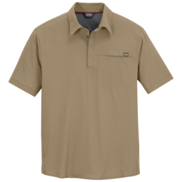 OR Men's Astroman Sun Polo cafe