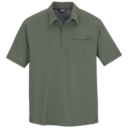 OR Men's Astroman Sun Polo sage green