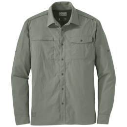 OR Men's Baja L/S Sun Shirt sage green