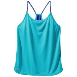OR Women's Echo Singlet typhoon/baltic