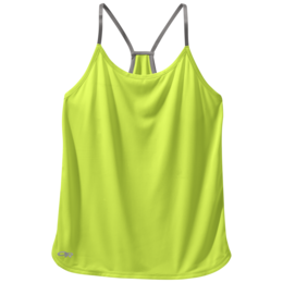 OR Women's Echo Singlet lemongrass/pewter
