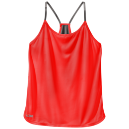 OR Women's Echo Singlet samba/pewter