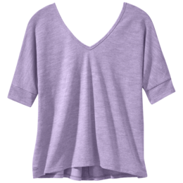 OR Women's Athena High-Low Tee elderberry