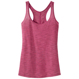 OR Women's Flyway Tank scarlet/desert sunrise