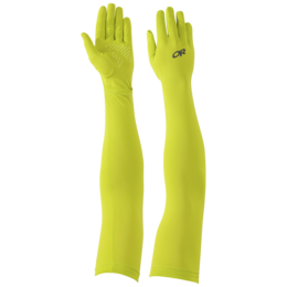 OR ActiveIce Full Fingered Sun Sleeves lemongrass