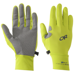OR ActiveIce Chroma Full Sun Gloves lemongrass