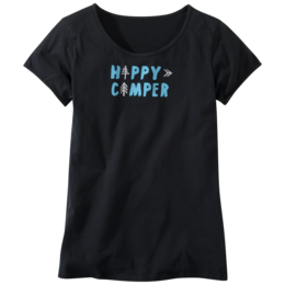OR Women's Happy Camper Tee black