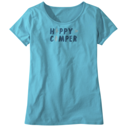OR Women's Happy Camper Tee typhoon