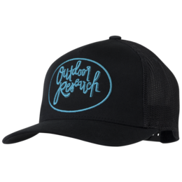 OR Women's Script Trucker Cap black