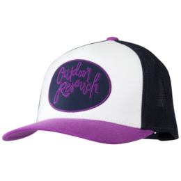 OR Women's Script Trucker Cap white