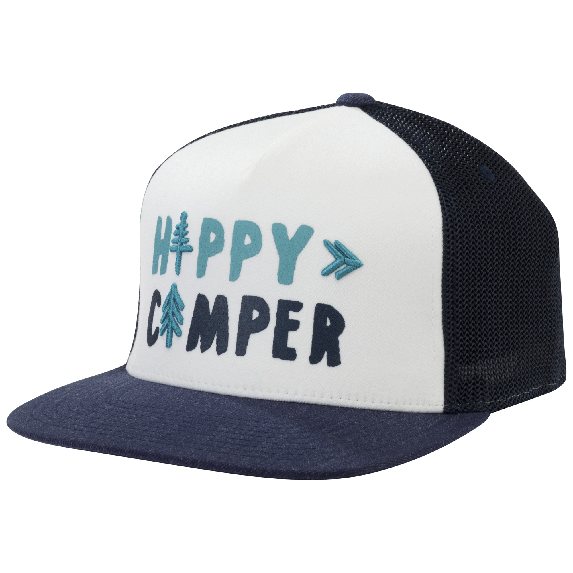55bc01502b45c Happy Camper Trucker Cap - night