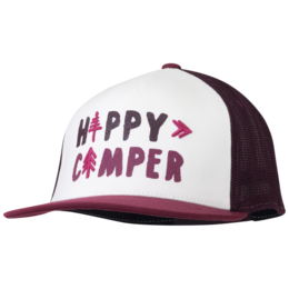 OR Women's Happy Camper Trucker Cap pinot