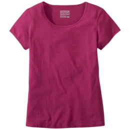 OR Women's Camila Basic S/S Tee sangria
