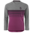 medium grey heather/orchid vio