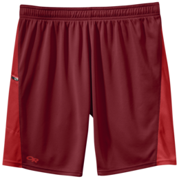 OR Men's Pronto Shorts redwood/hot sauce