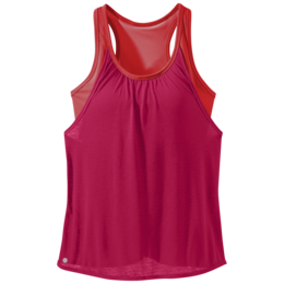 OR Women's Mirage Tank flame/scarlet