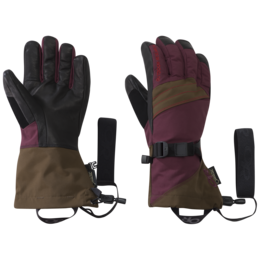 OR Women's Southback Sensor Gloves zin/carob/tomato