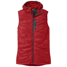 OR Men's Deviator Hooded Vest hot sauce/charcoal
