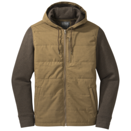 OR Men's Revy Hooded Jacket coyote/earth