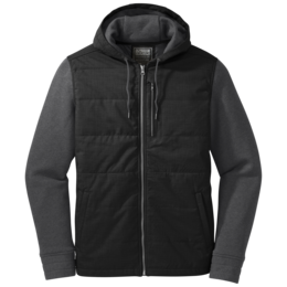 OR Men's Revy Hooded Jacket black/charcoal