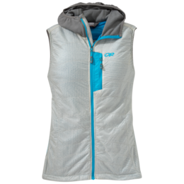 OR Women's Deviator Hooded Vest alloy/pewter