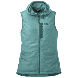 OR Women's Deviator Hooded Vest seaglass