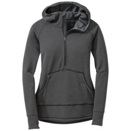 OR Women's Shiftup Zip Top black/charcoal