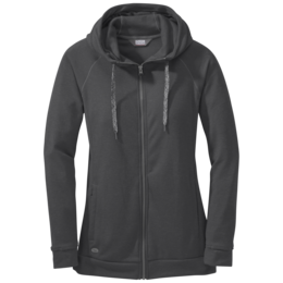 OR Women's Ozette Full Zip Hoody charcoal