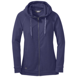 OR Women's Ozette Full Zip Hoody blue violet