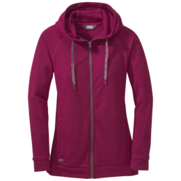 OR Women's Ozette Full Zip Hoody raspberry
