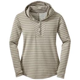 OR Women's Keara Hooded Henley cairn/walnut