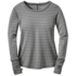 OR Women's Keara L/S Shirt pewter/charcoal