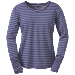 OR Women's Keara L/S Shirt blue violet/fig