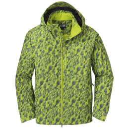 OR Men's Igneo Jacket lemongrass print