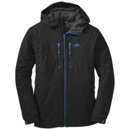 OR Men's AlpenIce Hooded Jacket black