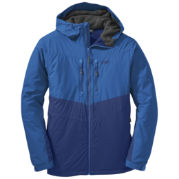 OR Men's AlpenIce Hooded Jacket baltic/glacier