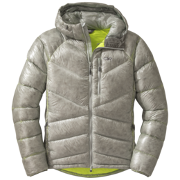 OR Men's Incandescent Hooded Down Jacket alloy/jolt