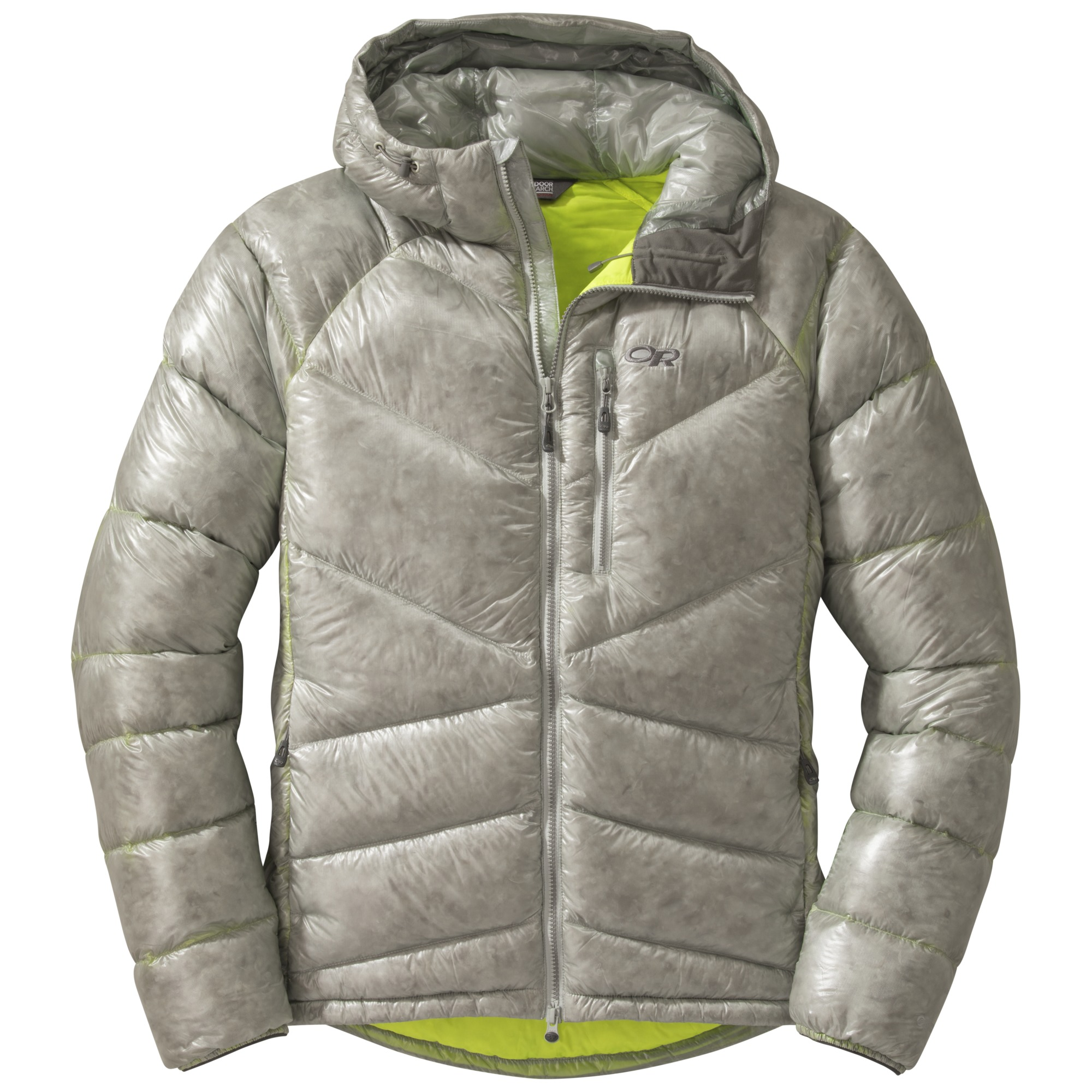Mens Incandescent Hooded Down Jacket Alloy Jolt Outdoor Research Jaket Hoodie Jumper Abslt Or