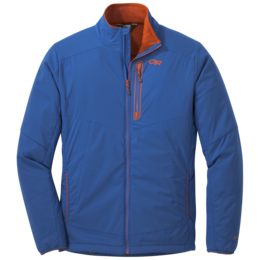 OR Men's Ascendant Jacket cobalt/burnt orange