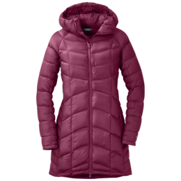 OR Women's Sonata Ultra Down Parka raspberry