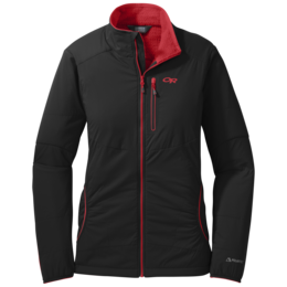 OR Women's Ascendant Jacket black/flame