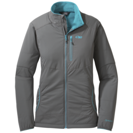 OR Women's Ascendant Jacket pewter/typhoon